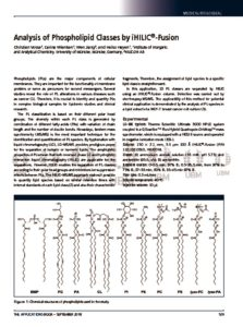 thumbnail of Analysis of Phospholipid Classes by iHILIC®-Fusion_HILICON_180905