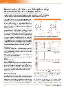 thumbnail of LCGC AN_July, 2019_Psilocin and Psilocybin in Magic Mushrooms_iHILIC-Fusion-MS_HILICON
